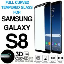 100% Genuine Screen Protector Tempered Glass Film For Samsung Galaxy S8 Clear