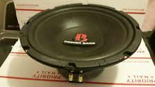 """Old School 12"""" Memphis power bass car audio subwoofer In nice condition."""
