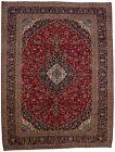 Large Floral Classic Vintage Handmade 10X13 Oriental Area Rug Wool Decor Carpet