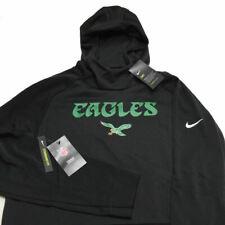 Philadelphia Eagles Nike Hoodie Sweatshirt XL Black NFL Throwback Mens NWT