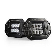 "2* AFTERPARTZ F2 18W 3"" CREE LED Arbeitsscheinwerfer E13 IP67 Flut Anti-Nebel"