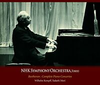 Wilhelm Kempff NHK Symphony Orchestra Beethoven Complete Piano Concertos 3-UHQCD