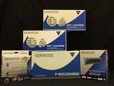 KENWOOD BOAT MARINE KIT P-WD250MRW + KAC-M1804 + KMR-M312BT + (2) PR KFC-1653MRW