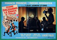 T51 Fotobusta Franco Francos Ciccio Ingrassia Fulci Come Svaliggiammo Banco 1