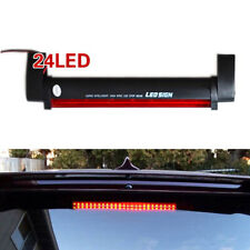 Red 24 LED 12V Car Third 3RD Brake Stop Tail Light High Mount For Auto Bulb Lamp