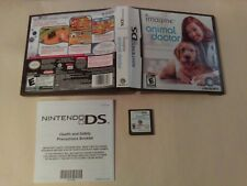 Imagine Animal Doctor (Nintendo DS) NO MANUAL