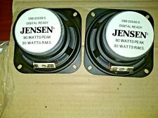 """1 Pair vintage Jensen car speakers Nos 099-20539-S 4"""" Dual Cone Look New in Box"""