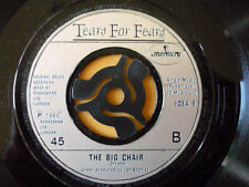 TEARS FOR FEARS = SHOUT / THE BIG CHAIR - 1984 MERCURY RECORDS - EXCELLENT VINYL