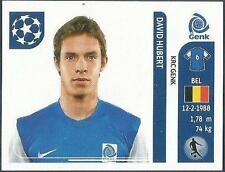 PANINI UEFA CHAMPIONS LEAGUE 2011-12- #336-GENK-DAVID HUBERT