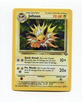 Pokemon Jolteon HOLO 4/64 Jungle Rare  NM
