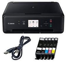 Set Canon Pixma TS5050 DRUCKER SCANNER KOPIERER WLAN + 5x XL TINTE + USB