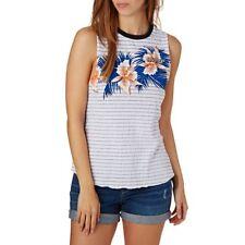 Rip Curl Womens Hot Shot Muscle Tank Top Singlet Vest Sleeveless Shirt SZ XXS-XL