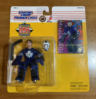 95 Felix Potvin Maple Leafs Starting Lineup *Canadian Version* Package Goalie
