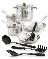Bella 12-piece Stainless Steel Cookware Set