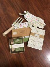 Gardener's Gift Pkg. Apron, Note Set, Rake, Gloves, Towel & Scrub brush, (A1)