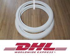 ATLAS Two pcs white wall Portawall trim 12'' wheels (2pcs inserts)