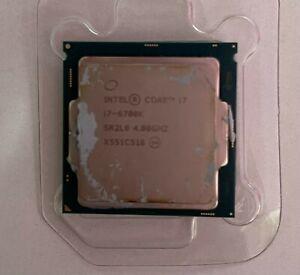 Intel 4512 Core i7 6700K 4.00 GHz Unlocked Quad Core Sky Lake Socket LGA 1151