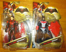 BATMAN V SUPERMAN 2016 HEAT VISION SUPERMAN & HEAT SHIELD BATMAN SET VS VERSUS