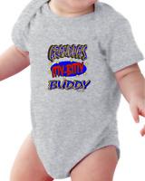 Infant Creeper Bodysuit T-shirt Grandpa's Itty Bitty Buddy
