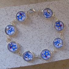 Forget-Me-Not Bracelet - Blue Flower jewellery