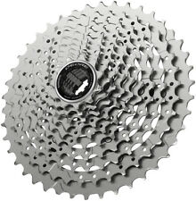 Shimano Deore CS-M4100-10 Cassette 10-Speed Silver For HG Freehub Body