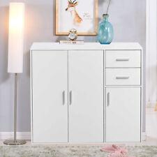 Shoe Cabinet Storage Cupboard Hallway Organizer Wooden with Shelves Drawers Rack