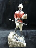 British Empire Lieutenant Chard 150mm Studio Painted Military Figure L1