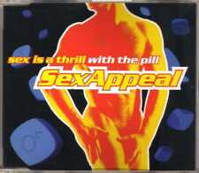 S.E.X. Appeal - Sex Is A Thrill With The Pill - CDM - 1998 - Dance 4TR E-Rotic