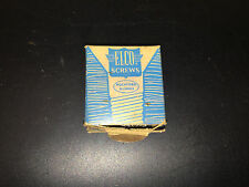 Vintage Elco Screws with Original Box Rockford Illinois for Lionel Trains