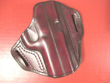 FIST Brown Leather Belt Holster for the S&W Model Sigma Comp Pistol