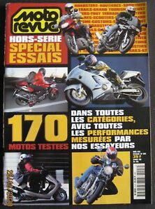 MOTO REVUE HS SPECIAL ESSAIS 3H 2000