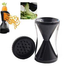 Vegetable Spiral Slicer Cutter Spirelli Spiralizer Twister Grater Kitchen Tool