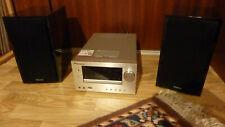 Pioneer XC-HM81-S Receiver mit zwei passenden Lautsprechern