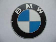 BMW - Garage Dealer - Porcelain Enamel Metal Advertising Sign / Shield