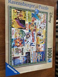 Disney Vintage Movie Posters Puzzle 1000 Piece Ravensburger