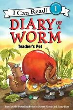 I Can Read Level 1: Diary of a Worm : Teacher's Pet by Doreen Cronin (2013, Pap…