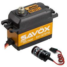 Savox SV-1273TG Ultra Speed High Voltage Titanium Gear Digital Servo + Glitch Bu