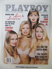 Playboy Magazine   February 1997   Kimber West POTM/Priscilla Taylor