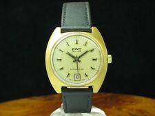 BWC Gold Mantel / Edelstahl Automatic Herrenuhr / Ref 755053 / Kaliber ETA 2782