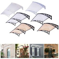 """40x40 80x40"""" Window Door Awning Outdoor UV Shade Cover Complete Sheet DIY Canopy"""