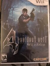 Resident Evil 4 -- Wii Edition (Nintendo Wii, 2007)