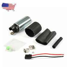 255LPH High Pressure PSI Intake Racing Fuel Pump For Walbro GSS342 GSS341