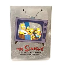 The Simpsons Complete First Season Collectors Ed 1st Bart Homer DVD No Scratches