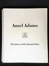 SIGNED Ansel Adams My Camera In The National Parks