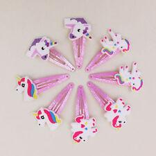 1Pair Cartoon Unicorn Girls Hair Clips Hairpins Hair  Accessories Kids Headwear