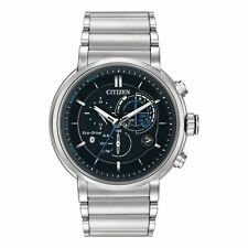 Citizen Men's Proximity Blue Tooth Smart Watch Eco Drive Alarm Chrono BZ1000-54E