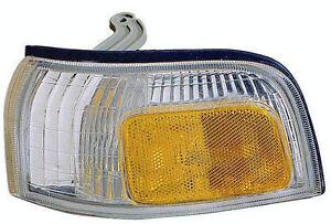 LEFT Corner Light - Fits 90-91 Honda Accord Turn Signal Lamp - NEW