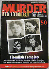 Murder in Mind Issue 50 - Lizzie Borden, Christofi, Paker & Hulme