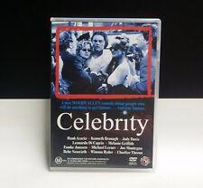 Celebrity DVD 1998 _Rare region 4 - Leonardo Dicaprioo, Woody Allen COMEDY MOVIE