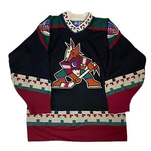 Vintage Western Conference NHL Phoenix Coyotes Starter Hockey Jersey Size Large